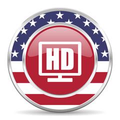hd display american icon, usa flag