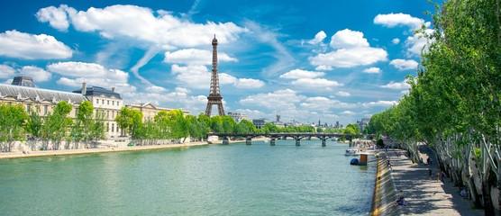 Foto auf Gartenposter Paris Berges de la Seine à Paris