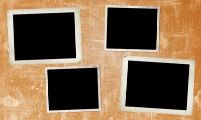Four old frames