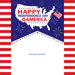 4th of July, American Independence Day templates