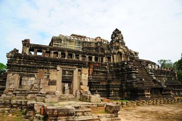 Ruin of Angkor Temple, Cambodia