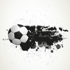 Vector Illustration of a Soccer Background