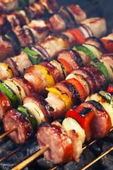grilled shashlik