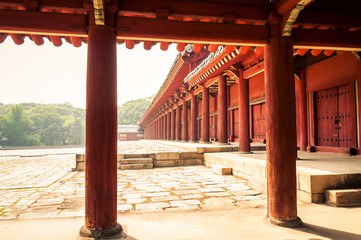 Fototapeta premium Jongmyo Shrine