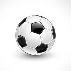Soccer ball. Vector