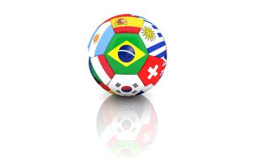 pallone multi bandiera cn riflesso