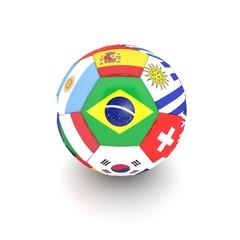 pallone multi bandiera