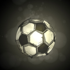 soccer light abstract vector design