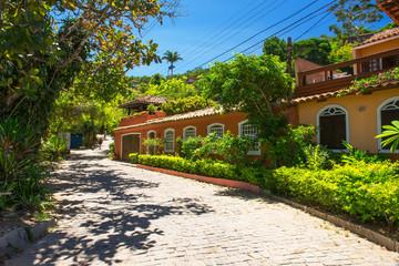 Street in Buzios, Rio de Janeiro. Brazil