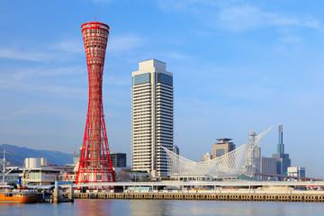 Kobe port in japan