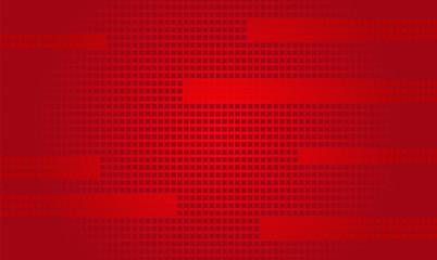 Czerwone tło z małych kwadratów