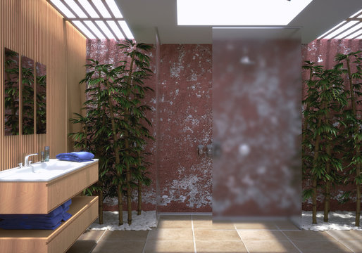Modernes Badezimmer - Modern Bathroom