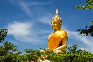 Big buddha with bluesky