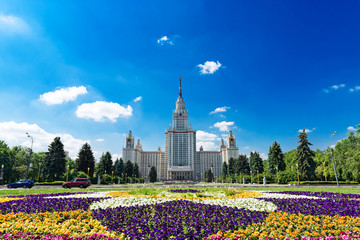 The Moscow State University of a name of Lomonosov.