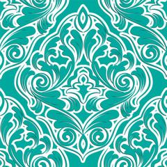 seamless wallpaper. damask pattern. flower background