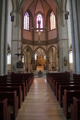 Innenraum der Marienkirche