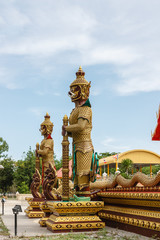 Thai giant statues