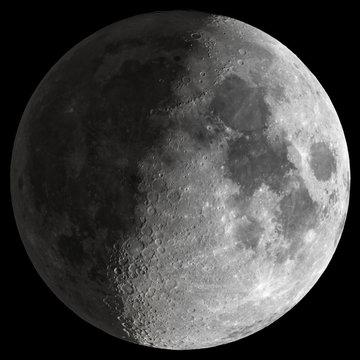 Half Moon with sharp details.
