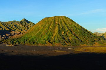 Landscape of Mount Bromo Volcano, Indonesia