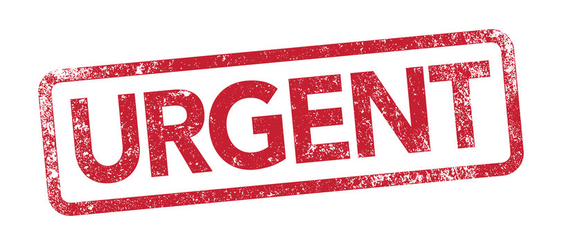 Urgent - tampon