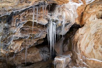 Ice in the Jemez River