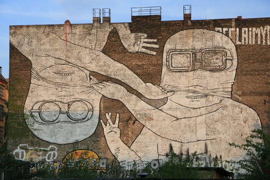 Graffiti in Berlin Kreuzberg