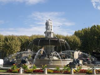 Brunnen in Aix en Provence