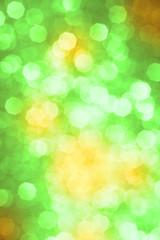 Grüner Bokeh Hintergrund