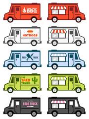 Food truck graphics