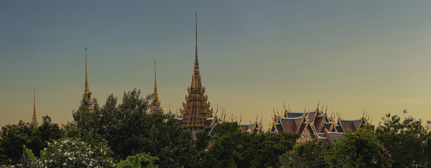Fototapete - Grand palace Bangkok
