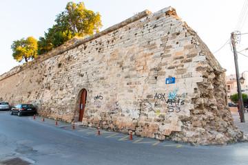 Cityscape and bay in city Chania/Crete/Greece
