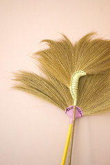 colorful broom