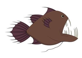 Fish with big teeth