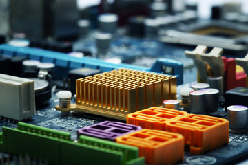 circuit board computer background