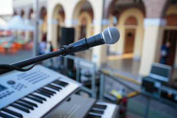Microphone And Keyboards