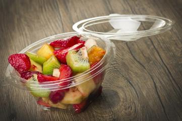 Mix of fresh fruit ready take away