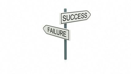 Choice between success and failure