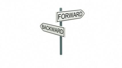 Choice between forward and backward