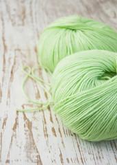 .Knitting yarn