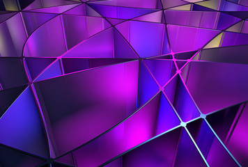 Abstract purple 3D background
