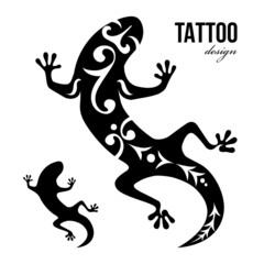 gecko tattoo