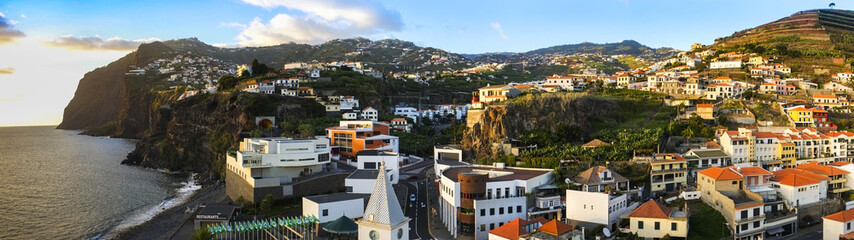 Camara de Lobos town, Madeira Island, Panorama