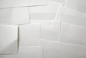 many memo papers background