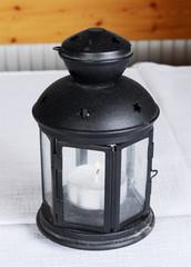 retro candle lamp