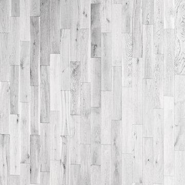 Vintage  White wooden parquet  background