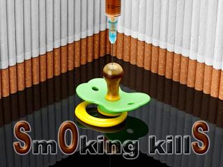 Smoking kills. SOS.
