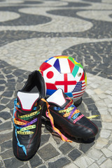 Brazilian Football Boots International Soccer Ball