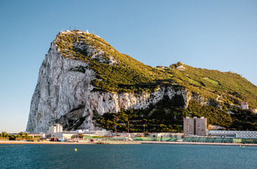 Day view of Gibraltar