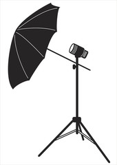Reflector for a photo studio