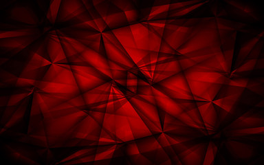 Abstract red background. Vector